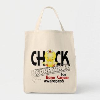 Bone Cancer Chick Gone White 2 Tote Bag