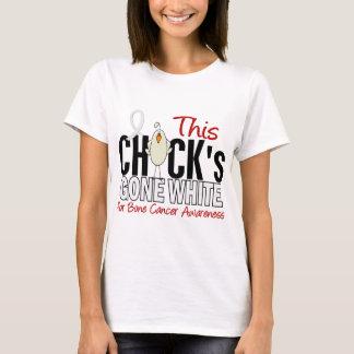 BONE CANCER Chick Gone White T-Shirt