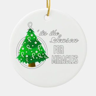 Bone Cancer Christmas Miracles Ornaments
