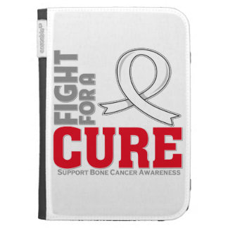 Bone Cancer Fight For A Cure Kindle Folio Case