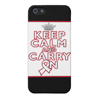 Bone Cancer Keep Calm and Carry On Case For iPhone 5
