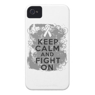 Bone Cancer Keep Calm and Fight On.png Case-Mate iPhone 4 Case