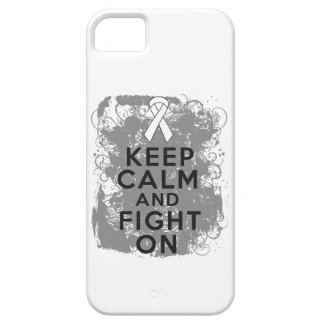 Bone Cancer Keep Calm and Fight On.png iPhone 5 Case