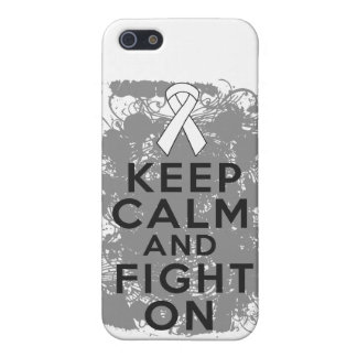 Bone Cancer Keep Calm and Fight On.png iPhone 5 Cover