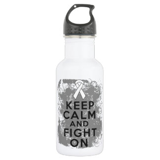 Bone Cancer Keep Calm and Fight On.png 532 Ml Water Bottle