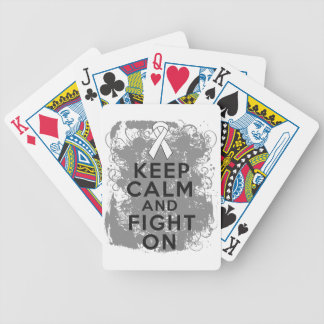 Bone Cancer Keep Calm and Fight On png Deck Of Cards