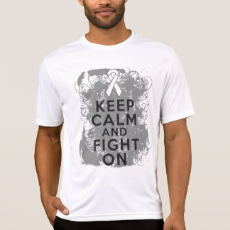 Bone Cancer Keep Calm and Fight On.png Tee Shirts