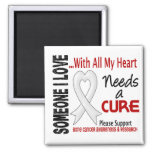 Bone Cancer Needs A Cure 3 Magnets