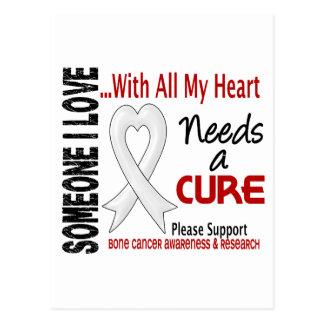 Bone Cancer Needs A Cure 3 Postcard