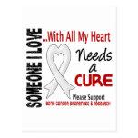 Bone Cancer Needs A Cure 3 Postcards