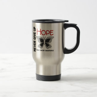 Bone Cancer Never Give Up Hope Butterfly 4 1 Coffee Mugs