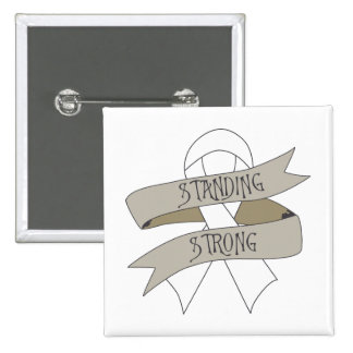 Bone Cancer Standing Strong Button