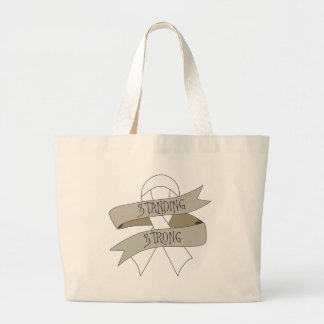 Bone Cancer Standing Strong Tote Bags