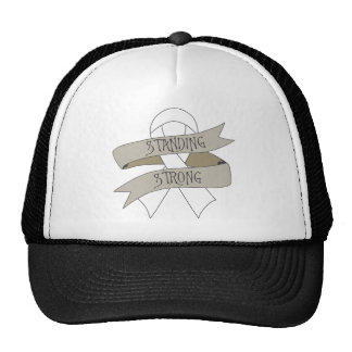 Bone Cancer Standing Strong Mesh Hat