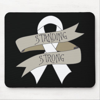 Bone Cancer Standing Strong Mouse Pad