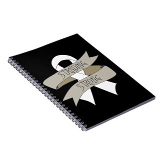 Bone Cancer Standing Strong Notebooks