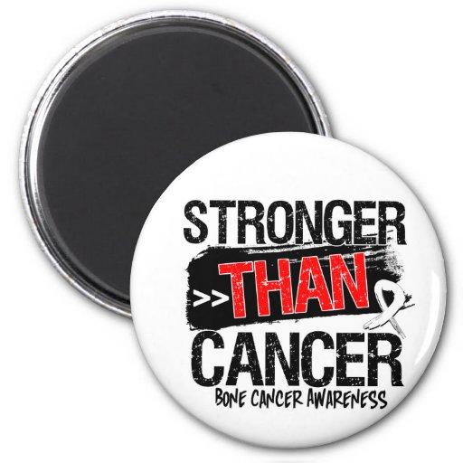 Bone Cancer - Stronger Than Cancer Magnet