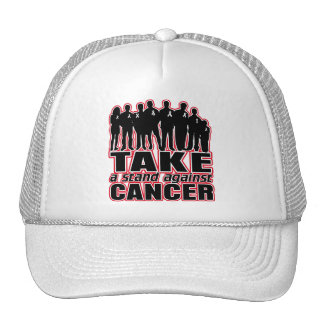Bone Cancer -Take A Stand Against Cancer Mesh Hat