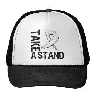 Bone Cancer Take A Stand Trucker Hats