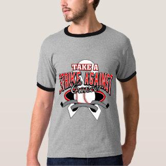 Bone Cancer Take A Strike T Shirts