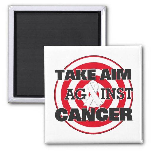 Bone Cancer Take Aim Against Cancer Fridge Magnets