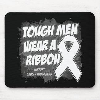Bone Cancer Tough Men Wear A Ribbon Mousepad