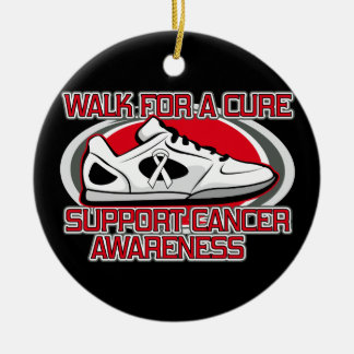 Bone Cancer Walk For A Cure Christmas Ornament