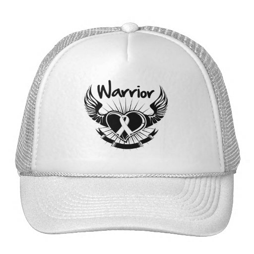 Bone Cancer Warrior Fighter Wings Hats