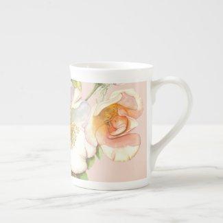 Bone China Mug - Sally Holmes Rose Design