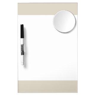 Bone Classic Colored Dry-Erase Whiteboards