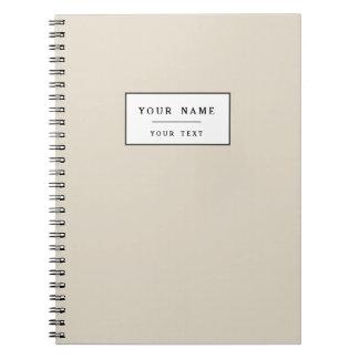 Bone Classic Colored Notebooks