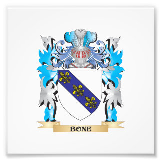 Bone Coat of Arms Photo Print
