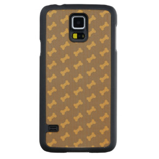 bone for dog texture carved maple galaxy s5 case