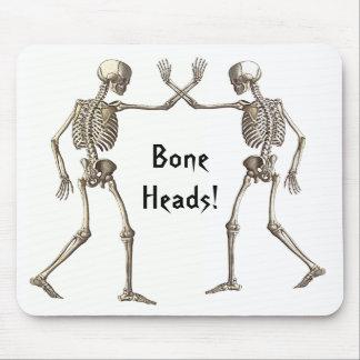 Bone Heads Skeletons Mousepad