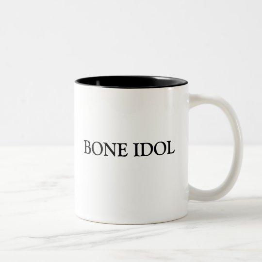 BONE IDOL Two-Tone COFFEE MUG