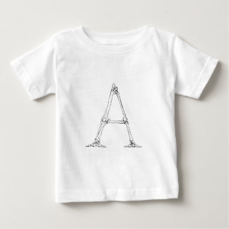 Bone Letter - A Baby T-Shirt