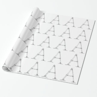 Bone Letter - A Wrapping Paper