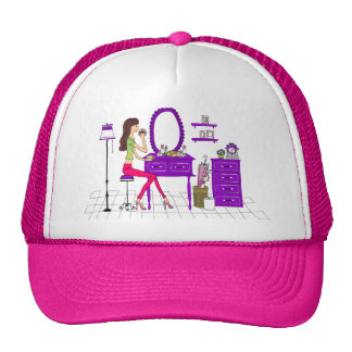 Boné makeup trucker hats