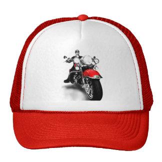 Boné motoqueiro hats