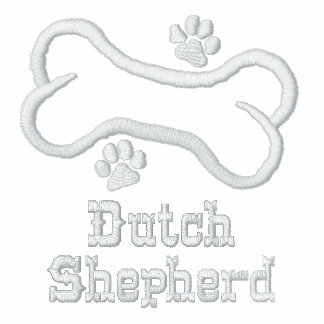 Bone-n-Paws Dutch Shepherd Embroidered Shirt