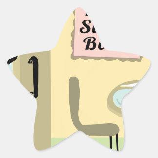 Bone Sweet Bone Star Sticker