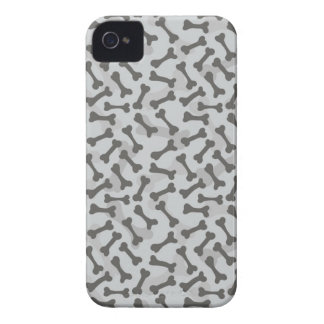 Bone Texture Pattern Greyscale iPhone 4 Case-Mate Cases
