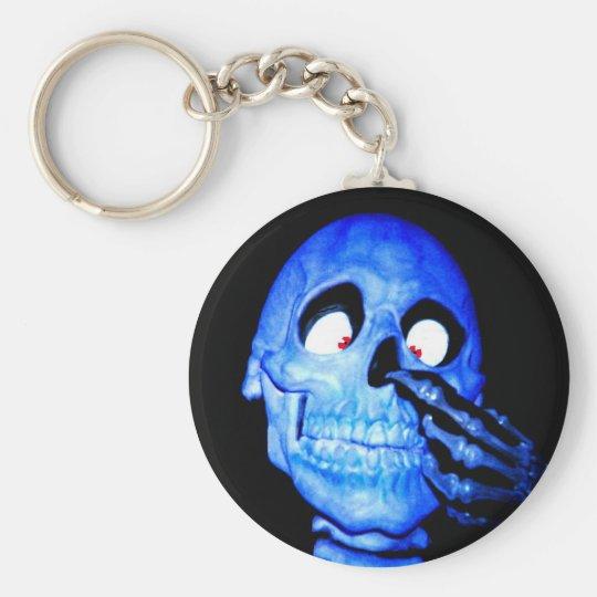 Bone To Pick Basic Round Button Key Ring
