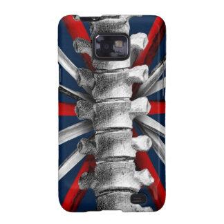 Bone Union Jack Galaxy S2 Covers