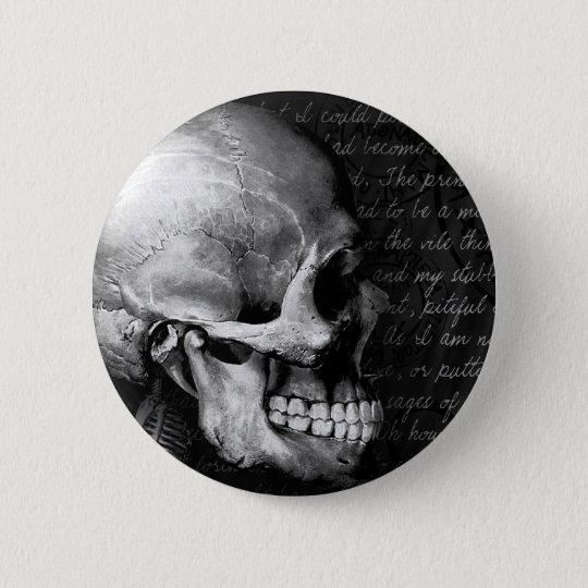 BoneFreak 6 Cm Round Badge