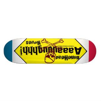 BoneHead Aaaauuughhh Moves Skate Board Decks