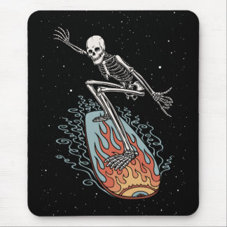 Bonehead Board Dude Mouse Pad