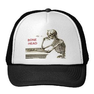 BONEHEAD The Contemplating Skeleton Cap