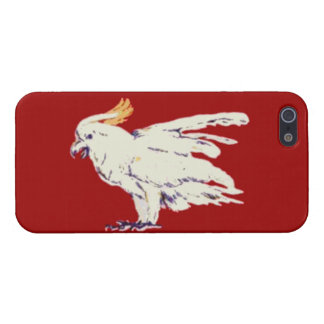 Bones Cocky Cockatoo iPhone 5 Savvy Cover Case For iPhone 5/5S