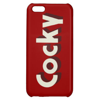 Bones Cocky iPhone 5 Savvy Cover iPhone 5C Cases